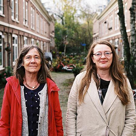 Catti Edfeldt y Lena Hanno Clyne