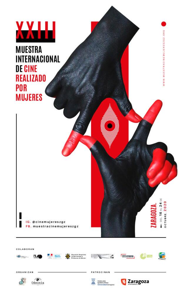 cartel XXIII muestra internacional de cine realizado por mujeres, Zaragoza