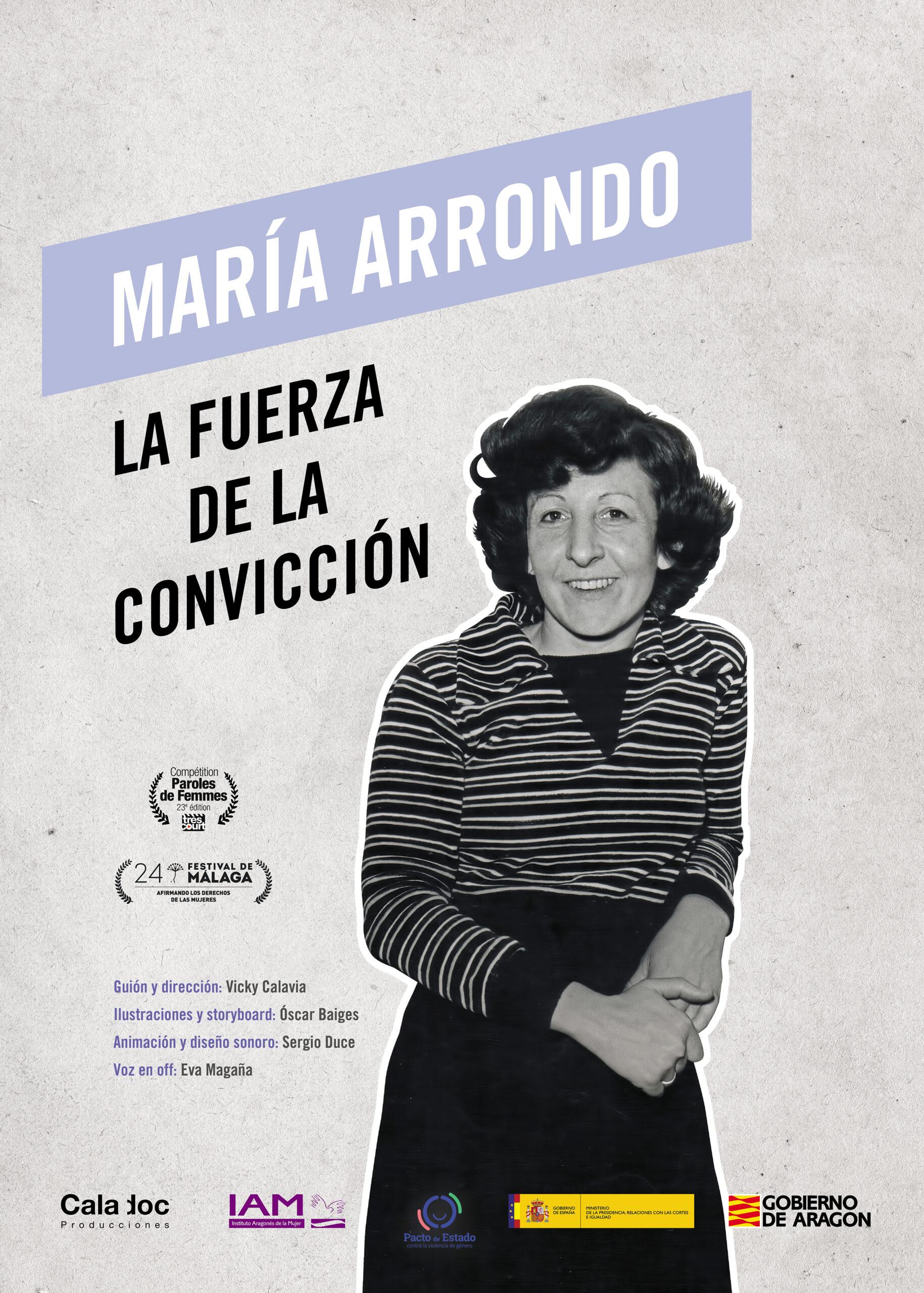 Maria Arrondo – Cartel 4-1